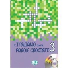 L'italiano con le parole crociate 3 + cd