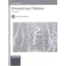 Strumenti per l'italiano. Seconda edizione - Guida per l'insegnante