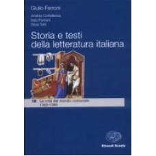 Storia e testi della letteratura italiana 1