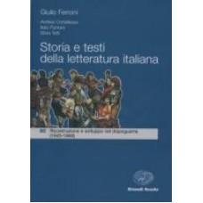 Storia e testi della letteratura italiana 3C