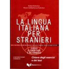 La lingua italiana per stranieri - nowe wydanie- Chiavi