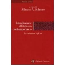 Introduzione all'italiano contemporaneo