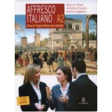 Affresco Italiano A2 - libro dello studente + CD audio
