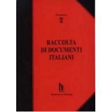 Raccolta di documenti italiani