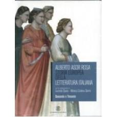 Storia Europea della letteratura italiana 1