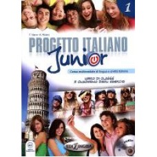 Progetto italiano Junior 1 - Książka ucznia