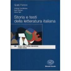 Storia e testi della letteratura italiana 3D