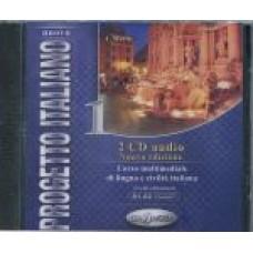Nuovo Progetto italiano 1 -  2 CD Audio (Versione Naturale + Rallentata)