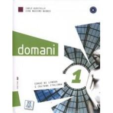 Domani 1 - książka ucznia + DVD