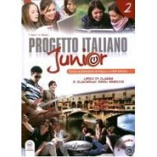 Progetto italiano Junior 2 - Książka ucznia