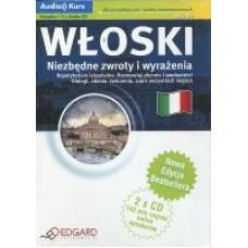 Włoski Niezbędne zwroty Książka i wyrażenia + 2  Audio CD