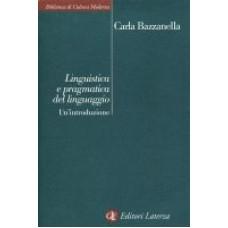 Linguistica e pragmatica del linguaggio