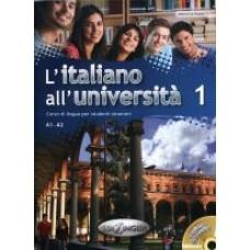L'italiano all'universita' 1 + CD