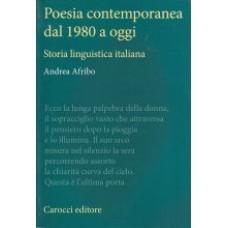 Poesia contemporanea dal 1980 a oggi
