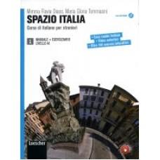 Spazio Italia 1- podręcznik ucznia + DVD-ROM