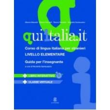 Qui Italia.it A1-A2 - Przewodnik dla nauczyciela