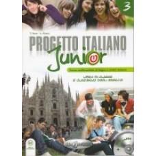Progetto italiano Junior 3 - Książka ucznia