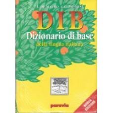 DIB - Dizionario di base della lingua italiana con Dizionario visuale