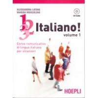 1, 2, 3,. italiano! Volume 1 + AUDIO CD