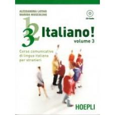 1, 2, 3,. italiano! Volume 3 + AUDIO CD
