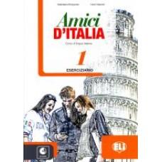 Amici D'Italia 1 - Eserciziario + cd