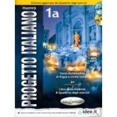 Nuovo Progetto italiano 1 a - Książka ucznia i ćwiczenia - wersja uaktualniona