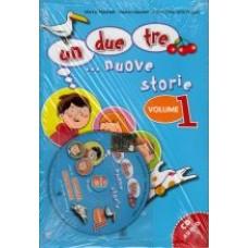 UN, DUE, TRE... NUOVE STORIE! 1 książka + cd