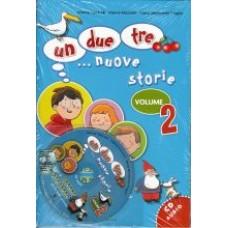 UN, DUE, TRE... NUOVE STORIE! 2 książka + cd