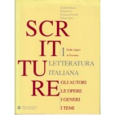 SCRITTURE LETTERATURA ITALIANA 1