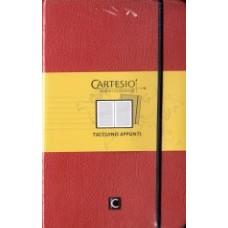 Notes CARTESIO 9x14  pomarańczowy