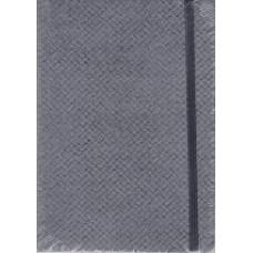Notes Taccuino 10,5x14,8 czarny w linie