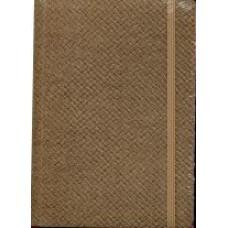 Notes Taccuino 10,5x14,8 jasny brąz w linie