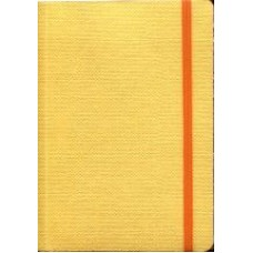 Notes Taccuino 10,5x14,8 żółty w linie