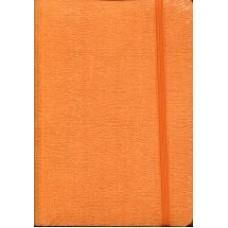 Notes Taccuino 10,5x14,8 pomarańczowy w linie