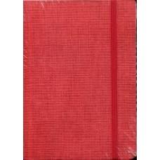 Notes Taccuino 10,5x14,8 czerwony w linie