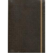 Notes Taccuino 14,8x21 brąz w linie
