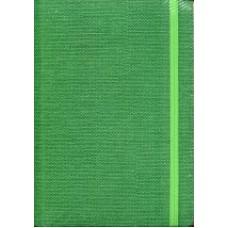 Notes Taccuino 14,8x21 zielony w linie