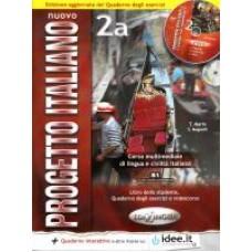 Nuovo Progetto italiano 2 a - Książka ucznia i ćwiczenia - wersja uaktualniona