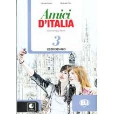 Amici D'Italia 3 - Eserciziario + CD