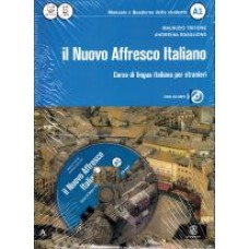 Il Nuovo Affresco Italiano A1 - libro + quaderno dello studente + CD-audio MP3