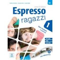 Espresso ragazzi 1 - podręcznik ucznia + CD audio + DVD