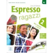 Espresso ragazzi 2 - podręcznik ucznia + CD audio + DVD