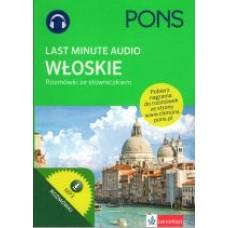 Last Minute audio - rozmówki ze słowniczkiem włoskie