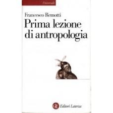 Prima lezione di antropologia