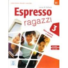 Espresso ragazzi 3 - podręcznik ucznia + CD audio + DVD