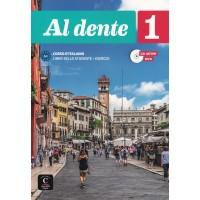 Al dente 1 - Książka ucznia + cd-audio + DVD