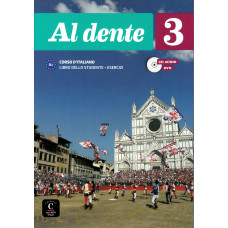 Al dente 3 - Książka ucznia + cd-audio + DVD