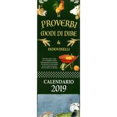 Calendario (Kalendarz średni) 2019 Proverbi e modi di dire
