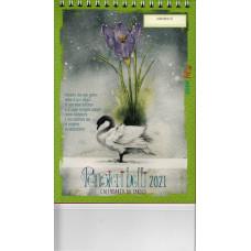 Calendario (Kalendarz biurkowy) 2021 Pensieri belli