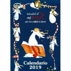 Calendario (Kalendarz) 2019 Istruzioni di volo degli angeli